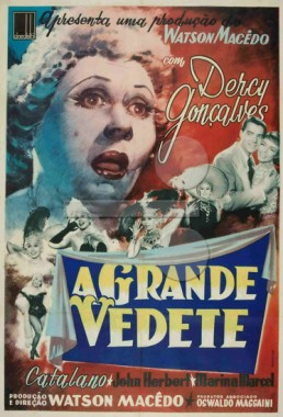 A Grande Vedete (Watson Macedo 1958) - Comédia