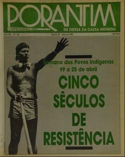 Resultado de imagem para imagem do porantim indigena