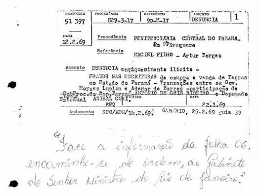 Fraude nas escrituras no Paraná