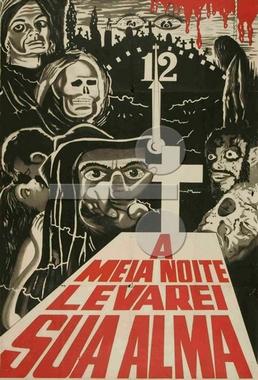 À Meia-Noite Levarei Sua Alma (José Mojica Marins 1963) - Horror
