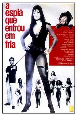 A Espiã Que Entrou Em Fria (Sanin Cherques 1967) - Comédia