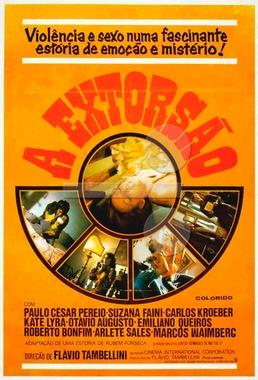 A Extorsão (Flávio Tambellini 1975) - Policial