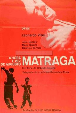 A Hora e a Vez de Augusto Matraga (Roberto Santos 1965) - Drama