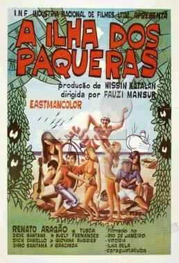 A Ilha dos Paqueras (Fauzi Mansur 1970) - Comédia
