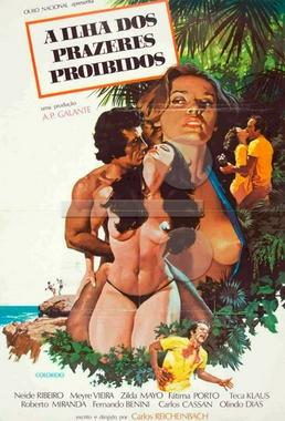 A Ilha dos Prazeres Proibidos (Carlos Reichenbach 1978) - Drama