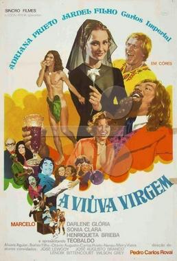 A Viúva Virgem ( Pedro Carlos Rovai 1972) - Comédia