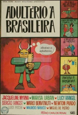 Adultério à Brasileira (Pedro Carlos Rovai 1969) - Comédia