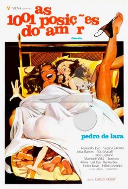 As Mil e Uma Posições do Amor (Carlo Mossy 1978) - Comédia Erótica