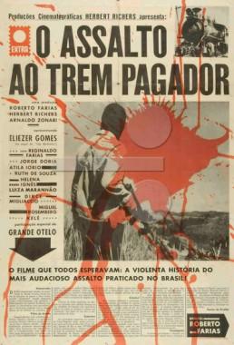 O Assalto Ao Trem Pagador (Roberto Farias 1962) - Policial