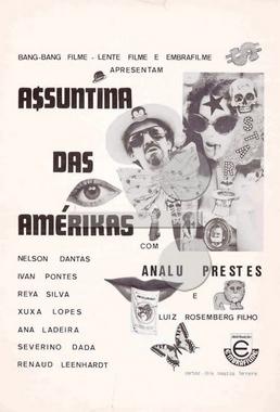A$$untina das Amérikas (Luiz Rosemberg Filho 1976) - Comédia