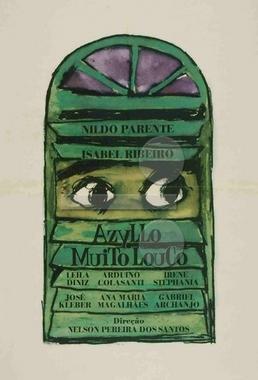 Azyllo Muito Louco (Nelson Pereira dos Santos 1970) - Comédia