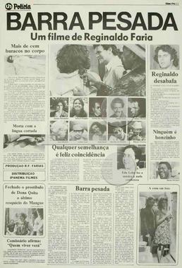 Barra Pesada (Reginaldo Faria 1975) - Policial