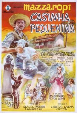 Casinha Pequenina (Glauco Mirko Laurelli 1963) - Comédia Dramática