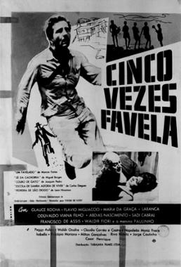 Cinco Vezes Favela (Marcos Farias, Miguel Borges, Carlos Diegues, Joaquim Pedro Andrade e Leon Hirszman 1962) - Drama