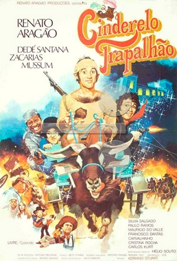 Cinderelo Trapalhão (Adriano Stuart 1979) - Infantil