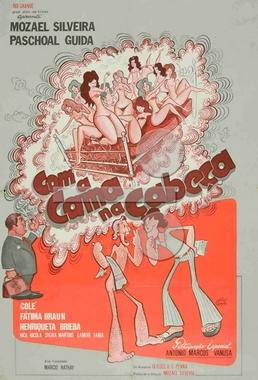 Com a Cama na Cabeça (Mozael Silveira 1973) - Comédia