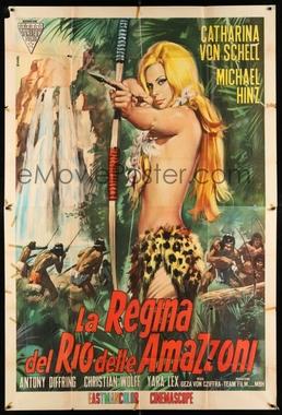 Lana, Koenigin der Amazonen (Cyll Farney e Geza von Cziffra 1966) - Aventura