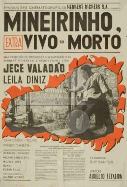 Mineirinho Vivo ou Morto (Aurélio Teixeira 1967) - Policial