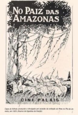 No Paiz das Amazonas (Joaquim Gonçalves de Araújo e Silvino Santos 1922) - Documentário