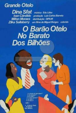 O Barão Otelo No Barato dos Bilhões (Miguel Borges 1971) - Comédia