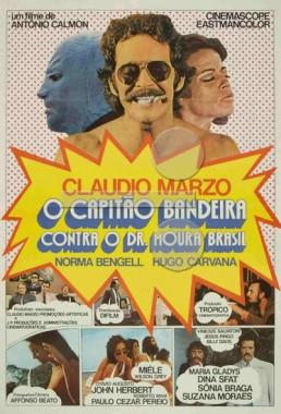 O Capitão Bandeira Contra O Dr. Moura Brasil (Antônio Calmon 1971) - Comédia