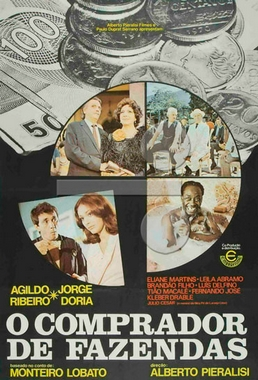 O Comprador de Fazendas (Alberto Pieralisi 1974) - Comédia