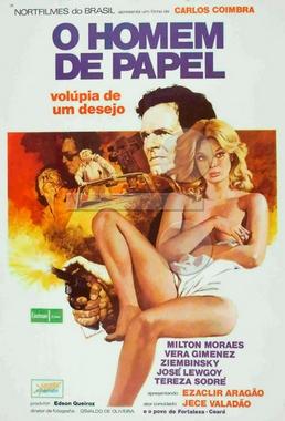 O Homem de Papel (Carlos Coimbra 1976) - Policial