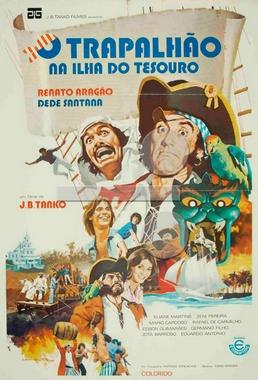 O Trapalhão na Ilha do Tesouro (J.B.Tanko 1975) - Infantil