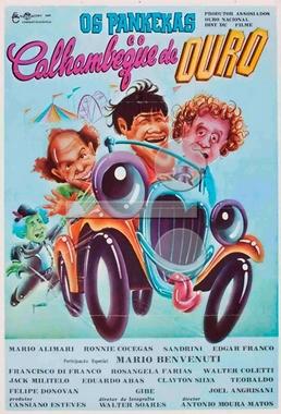 Os Pankekas e o Calhambeque de Ouro (Antônio Moura Matos 1979) - Comédia