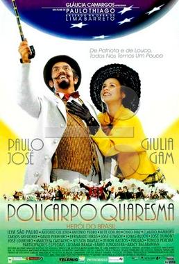 Policarpo Quaresma, o Herói do Brasil ( Paulo Thiago 1998) - Comédia