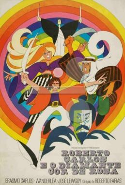 Roberto Carlos e o Diamante Cor-de-rosa (Roberto Farias 1970) - Aventura