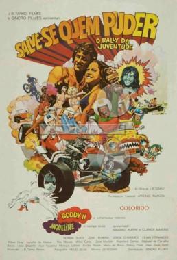 Salve-se Quem Puder - O Rally da Juventude (J.B. Tanko 1972) - Comédia