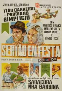 Sertão em Festa  (Osvaldo Oliveira 1970) - Comédia Rural Musical