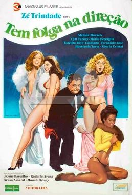 Tem Folga na Direção (Victor Lima 1976) - Comédia