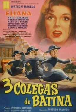 Três Colegas de Batina (Darcy Evangelista 1961) - Comédia Musical