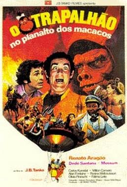 Trapalhão no Planalto dos Macacos (J.B.Tanko 1976) - Infantil