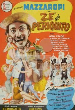 Zé do Periquito (Amácio Mazzaropi e Ismar Porto 1960) - Comédia