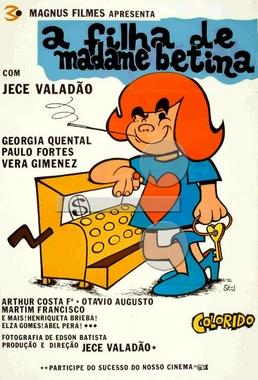 A Filha de Madame Betina (Jece Valadão 1973) - Comédia