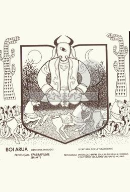 Boi Aruá (Francisco Liberato 1984) - Desenho Animado