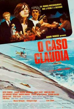 O Caso Claudia (Miguel Borges 1979) - Policial