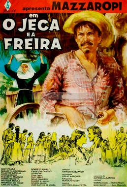 O Jeca e a Freira (Amácio Mazzaropi 1967) - Comédia