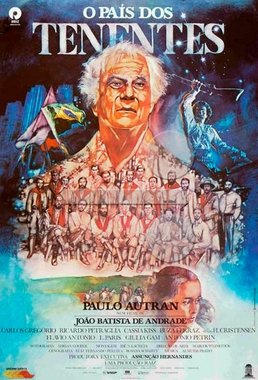 O País dos Tenentes (João Batista de Andrade 1987) - Drama