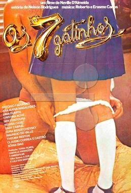 Os 7 Gatinhos (Neville d'Almeida 1980) - Drama