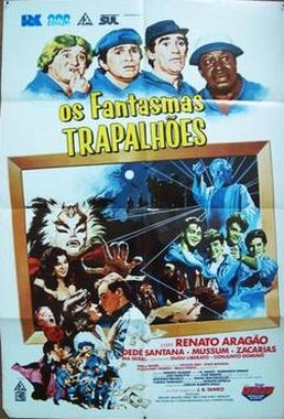 Os Fantasmas Trapalhões (J.B.Tanko 1987) - Infantil