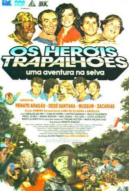 Os Heróis Trapalhões, Uma Aventura na Selva (José Alvarenga Júnior 1988) - Infantil