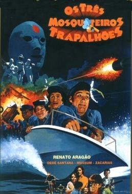 Os Três Mosqueteiros Trapalhões (Adriano Stuart 1980) - Infantil