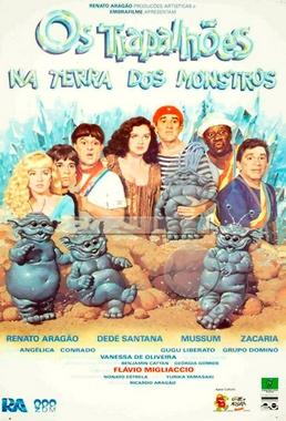 Os Trapalhões na Terra dos Monstros (Flávio Migliáccio 1989) - Infantil
