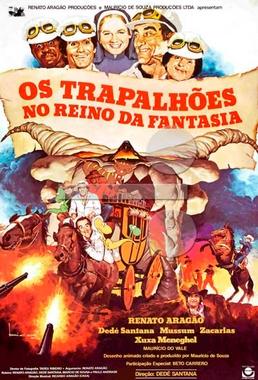 Os Trapalhões no Reino da Fantasia (Dedé Santana 1985) - Infantil