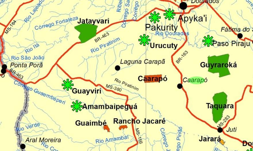 Guarani-Kaiowá: memórias de Caarapó e a luta contra o desterro.