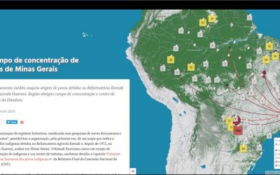 O campo de concentração de índios de Minas Gerais